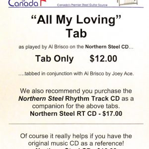 All My Loving – Tab by Al Brisco