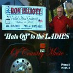 Ron Elliott – Hats Off To The Ladies CD