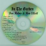 Ron Elliott & Don Helms – In The Garden – RT CD
