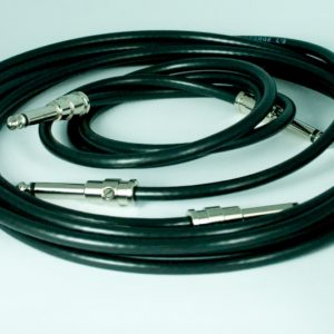 George L's Pre-made .225 cables 3 ft. & 10 ft. with Nickel Straight Plugs