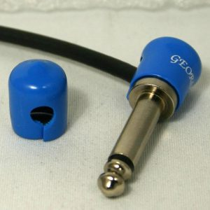 George L's Stress-Relief Jackets for Right-Angle Plugs (Blue)