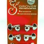 Grover Rotomatic Chrome Tuners
