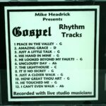 Mike Headrick – Gospel Rhythm Tracks – RT CD