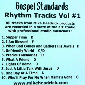 Mike Headrick – Gospel Standards Vol. 1 – RT CD