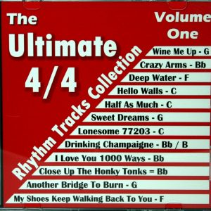Mike Headrick – The Ultimate 4 CD Rhythm Track Collection