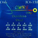 Jagwire JC6-15S Stainless 10 string Set