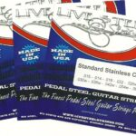 LIVE Stainless C6th 10 String – 3 Set Special