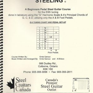 Pedal Steeling with Ernie Geroux & Al Brisco – E9th – Tab Book & RT CD