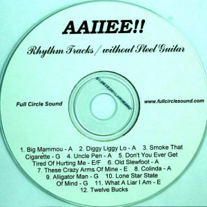 Billy Phelps – AAIIEE Cajun Tracks RT CD