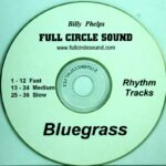 Billy Phelps – Bluegrass Jamming Tracks RT CD
