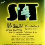 S.I.T. Magnum C6th Stainless – 10 String Set