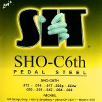 S.I.T. SHO-C6th Nickel – 10 String Set