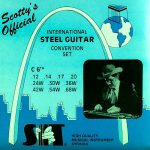 S.I.T. SC-C6th Scotty's Nickel Semi-Flat – 10 String Set