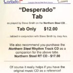 Desperado – Tab by Steve Smith