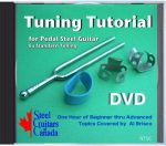 Tuning Tutorial DVD for E9th Pedal Steel by Al Brisco
