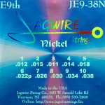 Jagwire JE9-38N, Nickel E9th 10 String Set