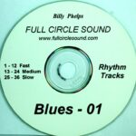 Billy Phelps – Blues Rhythm Tracks CD